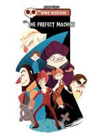 the spirit detective/ cover by Alexisvivallo