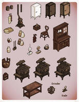 Kitchen Clutter by Vampirarch