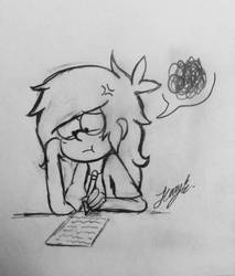 Stressed Out ( *groaannnn* ) by GamerSparkle