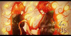 Let be Friends by Mitsu-chin