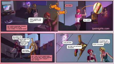 Kim Brooks sci-fi comic by discipleneil777