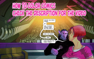 How to Color Comics by discipleneil777