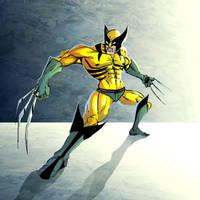 kick ass Wolverine by discipleneil777