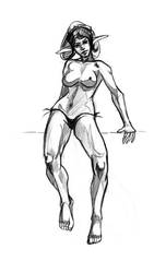 Realistic Proportions sexy elf by discipleneil777