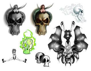 Skull Flash Sheet - no nude by discipleneil777