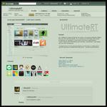 (concept) deviantART - a bit more artistic 2 by UltimateRT