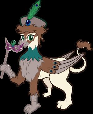 Peacock Griffon (Contest Entry) by Turtlgandalf