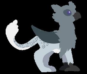 Pointy Griffon : Zephyra by Turtlgandalf