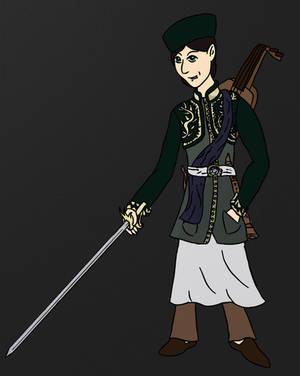 Arturius, the Elder's son by Turtlgandalf