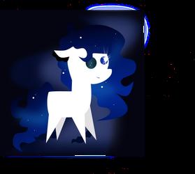 'Pointy Pony' - Nebula Gleam (Birthday Present) by Turtlgandalf