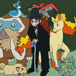 Mr. Khan - Pokemon AU by Turtlgandalf