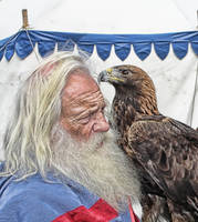 The old man and the eagle by kschenk