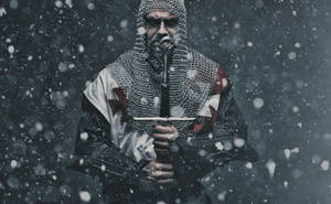 Winter Knight by kschenk