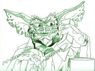 Gremlins - The New Batch - Brain - loose Line art by Gremmy-X