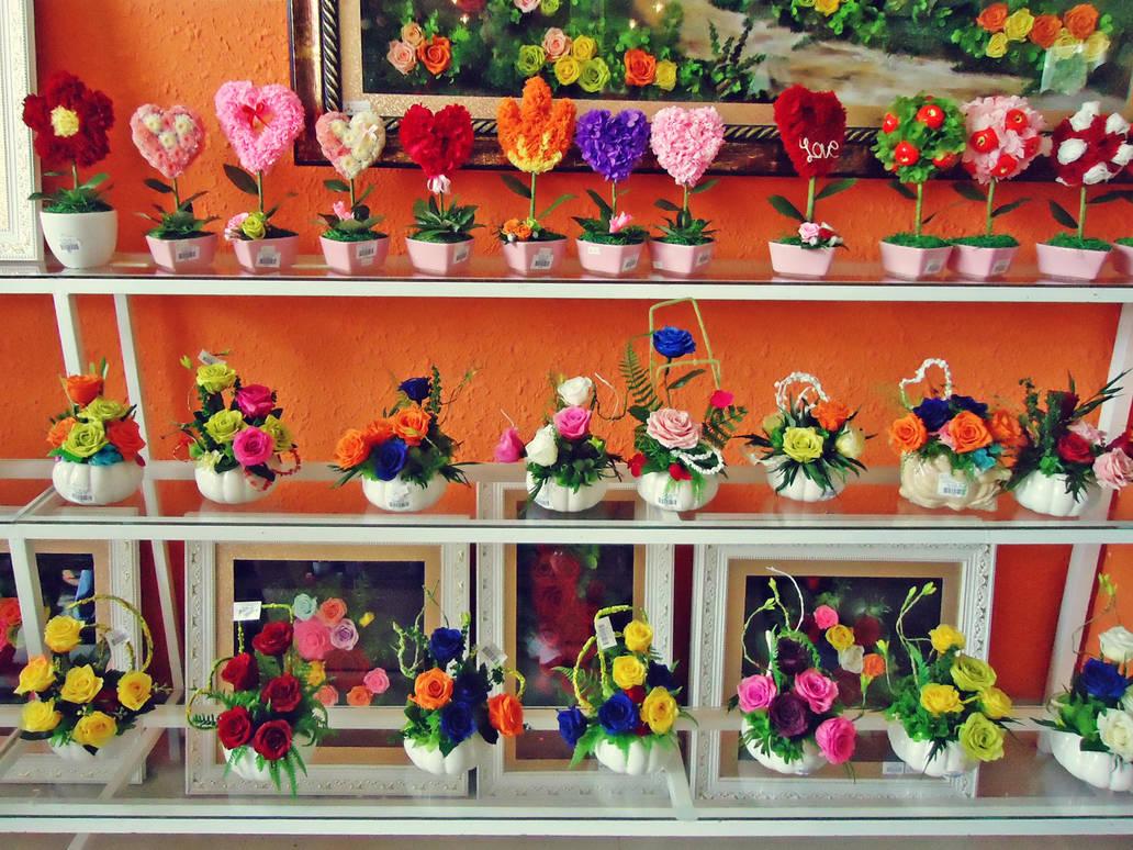 Paper Flower Shop By Willtc On Deviantart