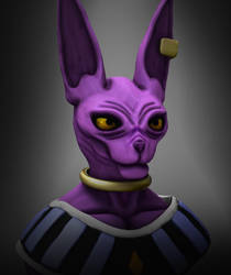 Beerus by Adam-Baker