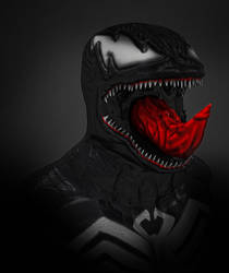 Venom old render test by Adam-Baker
