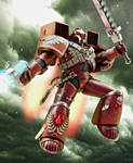 Warhammer Blood Angel by Adam-Baker