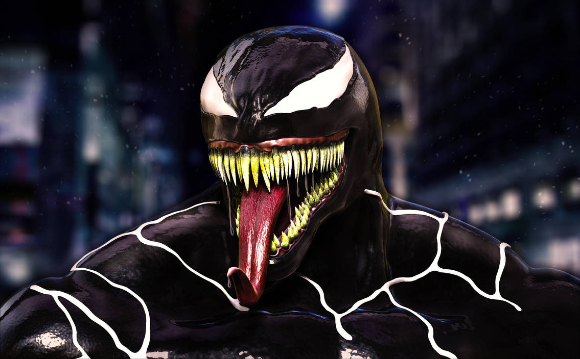 New Venom by Adam-Baker