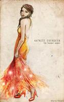 Katniss Everdeen by MartAiConan