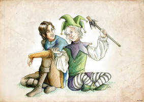 The fool and Fitz II by MartAiConan