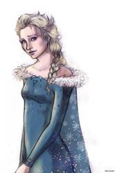 Elsa_ Olaf's Frozen Adventure by MartAiConan