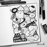 Keep Doodling [Some Tips] ~ Video by PicCandle