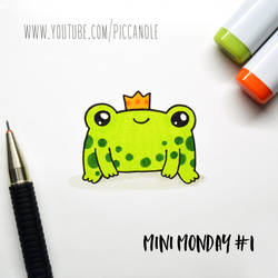 Doodle - Little Frog - Mini Monday [Video] by PicCandle