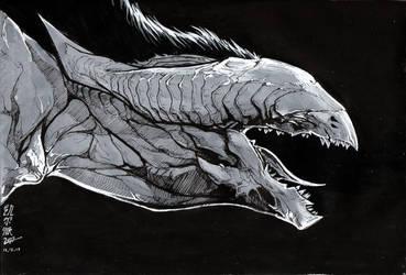 Roar by kelpie-monster