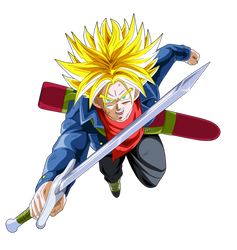 trunks SSJ dragon ball super by naironkr