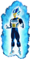 vegeta Ssj Blue Beyone by naironkr