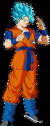 goku ssj blue db heros by naironkr