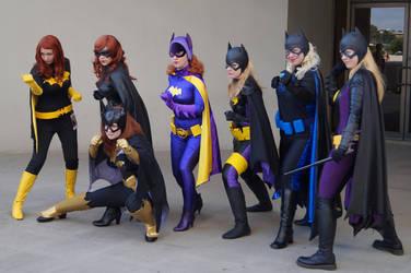 Batgirls by gardawamtu