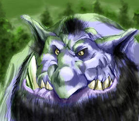 Forest troll by irongollem