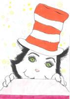 Cat in the Hat by denniepennie