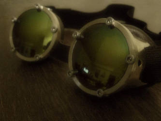Brass Goggles by seanhexed