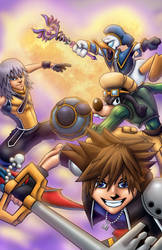 Kingdom Hearts 2013 by Kyle-Fast
