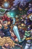 Chrono Trigger by Kyle-Fast