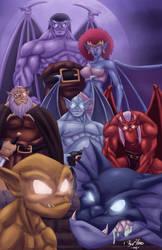 Gargoyles 2014 by Kyle-Fast