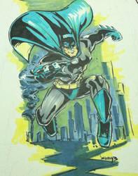 Batman again by art4oneking