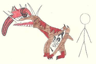 Caedisops iratus #buildafakepterosaur by Oaglor