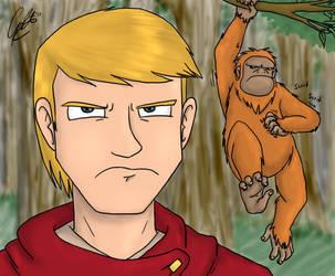LGND - I Saw A Big Monkey... by caat