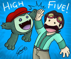 OH - High Five by caat