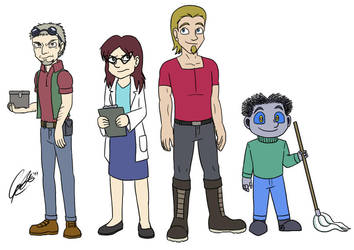 PS - Protagonists by caat