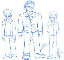 PS - Antagonists WIP by caat