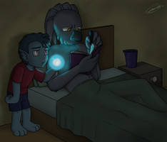 OH - Great, The Kid's A Nightlight by caat