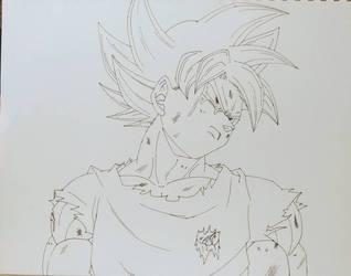 Goku MUI inw by japanda82