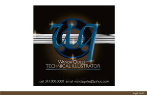 LOGO FOR WANDA QUILES by mambographic