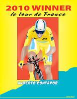 Alberto Contador 2010 Winner by mambographic