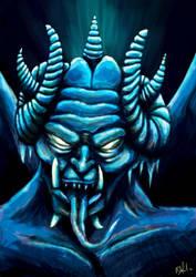 Ice Demon by jediboyy